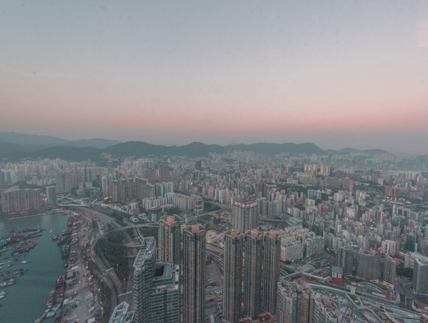 Hong Kong skyline Sky100