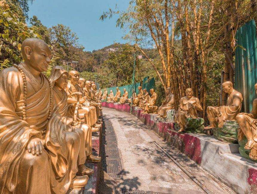 klooster van de tienduizend boeddha's hong kong