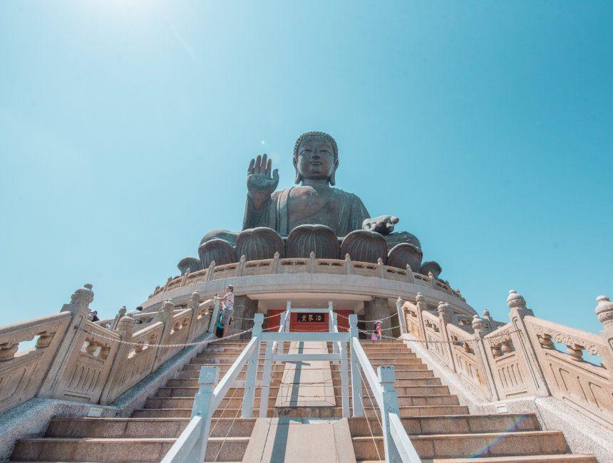 tian tian boeddha hong kong