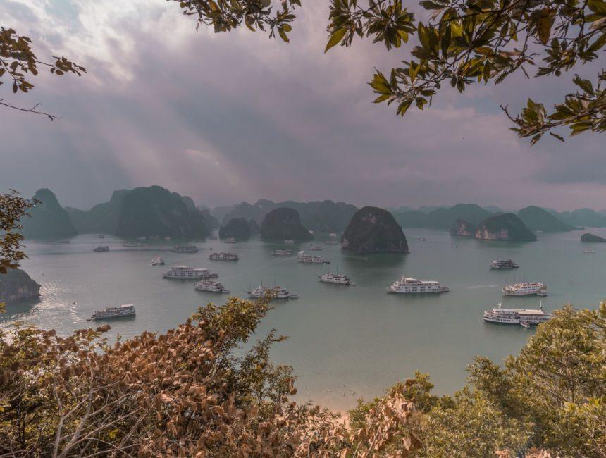 titov island halong bay vietnam
