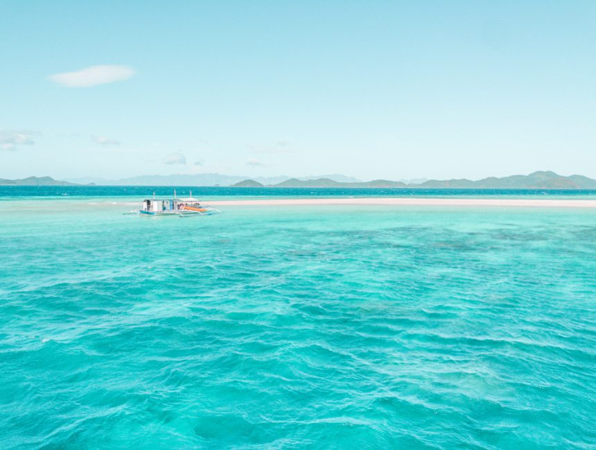 bestemming onbekend filipijnen eilandhoppen
