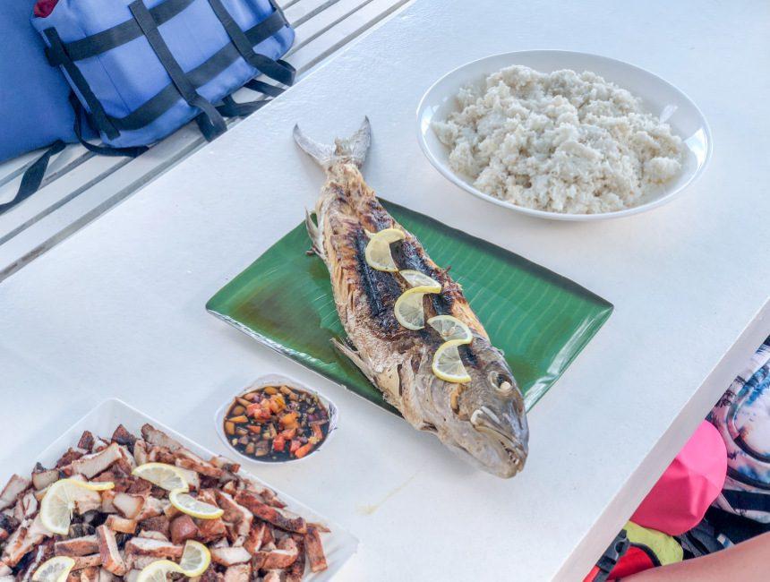 eilandhoppen filipijnen eten