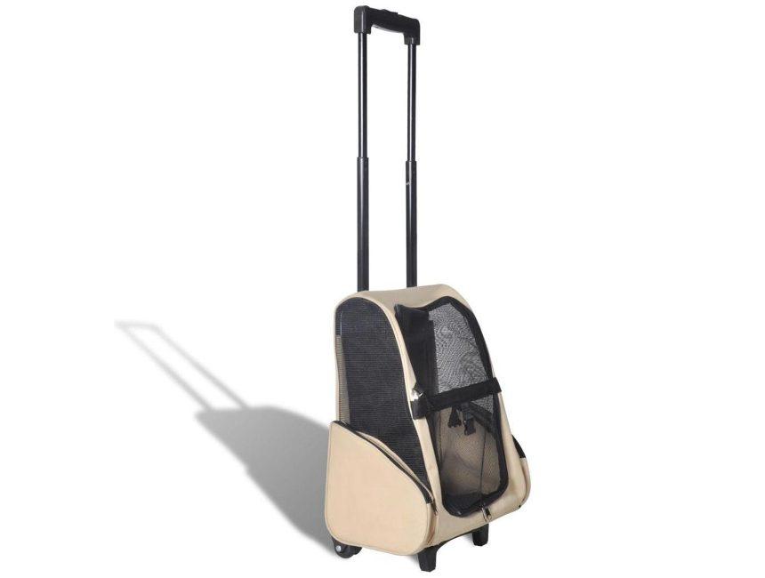 hondentrolley vliegtuig VidaXL inklapbare huisdierentrolley