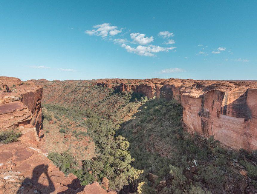Kings Canyon Australie kloof