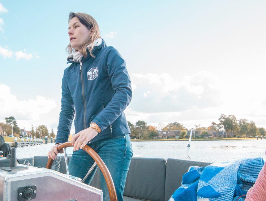 Leiden by boat