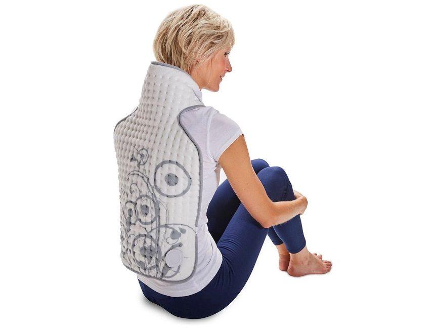 elektrisch deken tegen rugpijn Lanaform Heating Blanket Back
