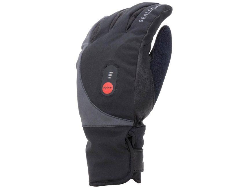 fietshandschoenen met verwarming-Sealskinz Waterproof Heated Cycle