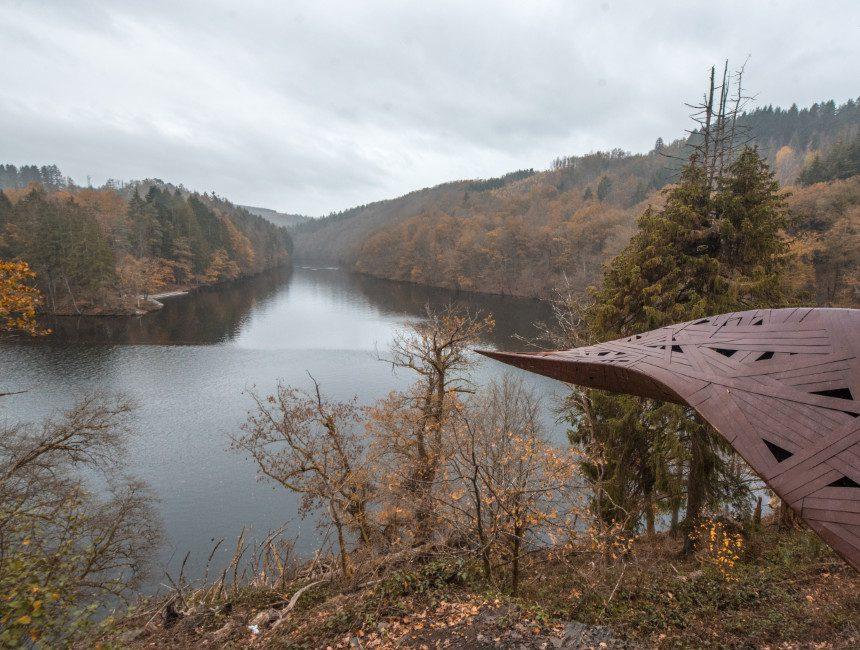 Lac de Nisramont wandeling