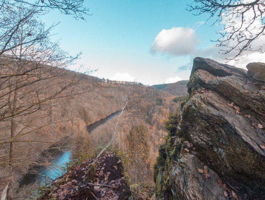 mooie wandelingen Ardennen laddertjeswandeling Bouillon