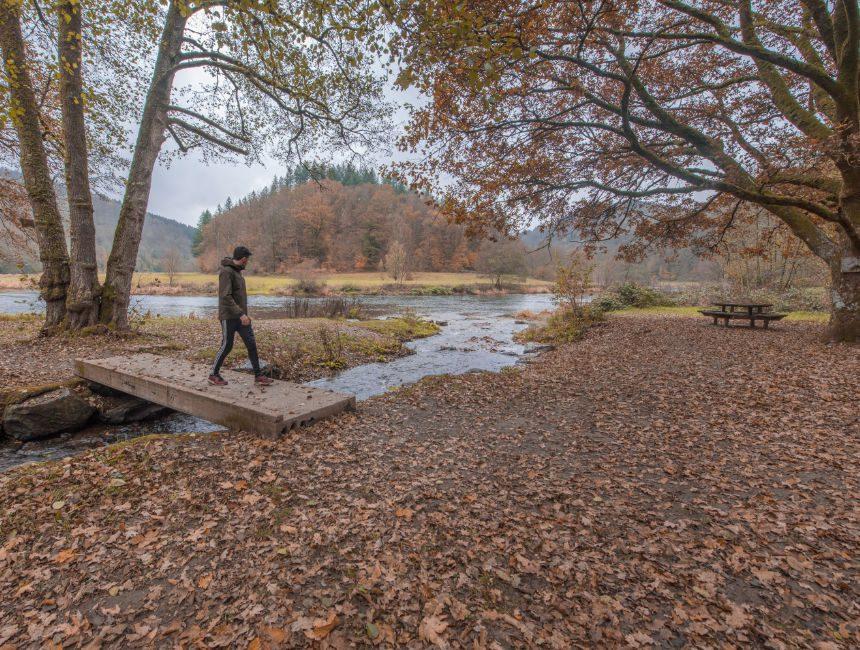 mooiste wandelingen Ardennen tombeau du geant