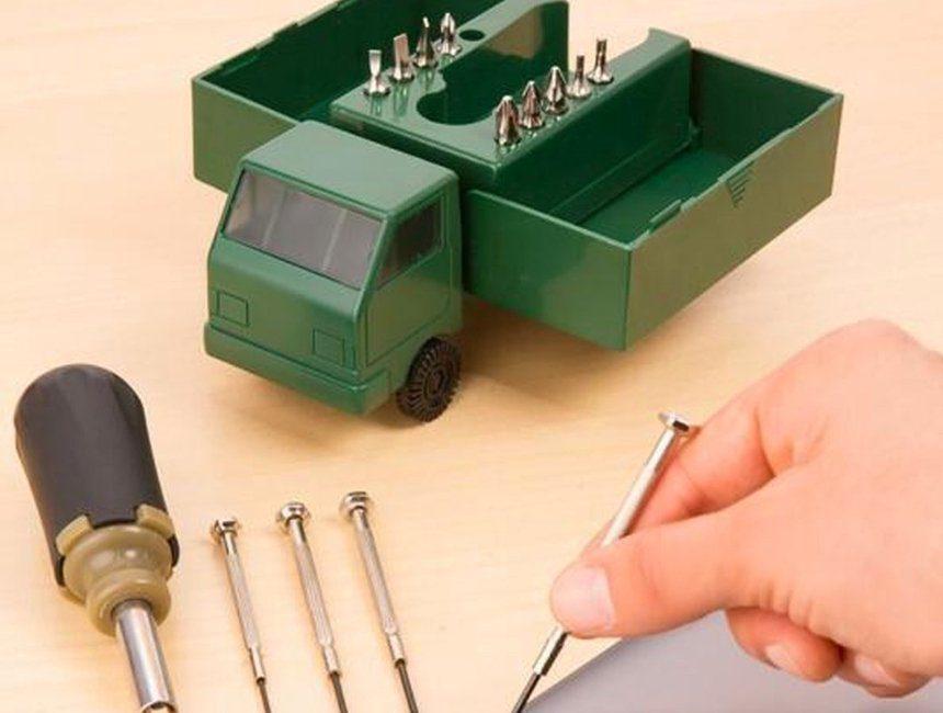 Vrachtwagentje toolbox