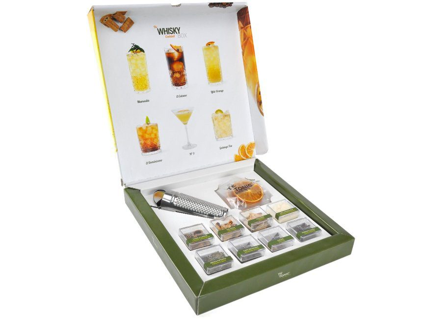 Whisky Coktail Lover Box