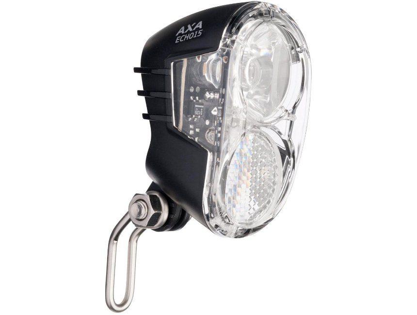 fietslamp dynamo Axa Echo 15 Switch LED