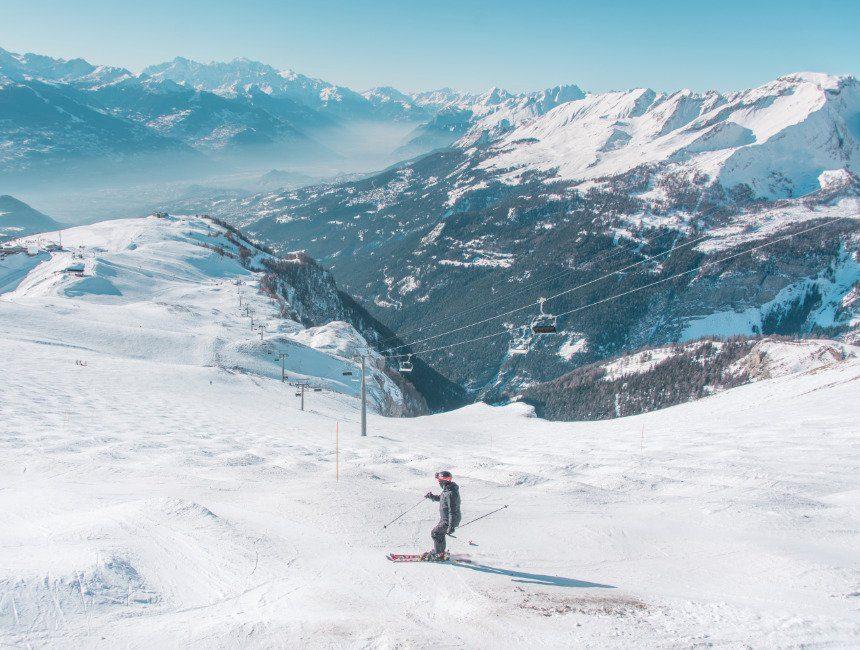 skien Crans Montana Zwitserland