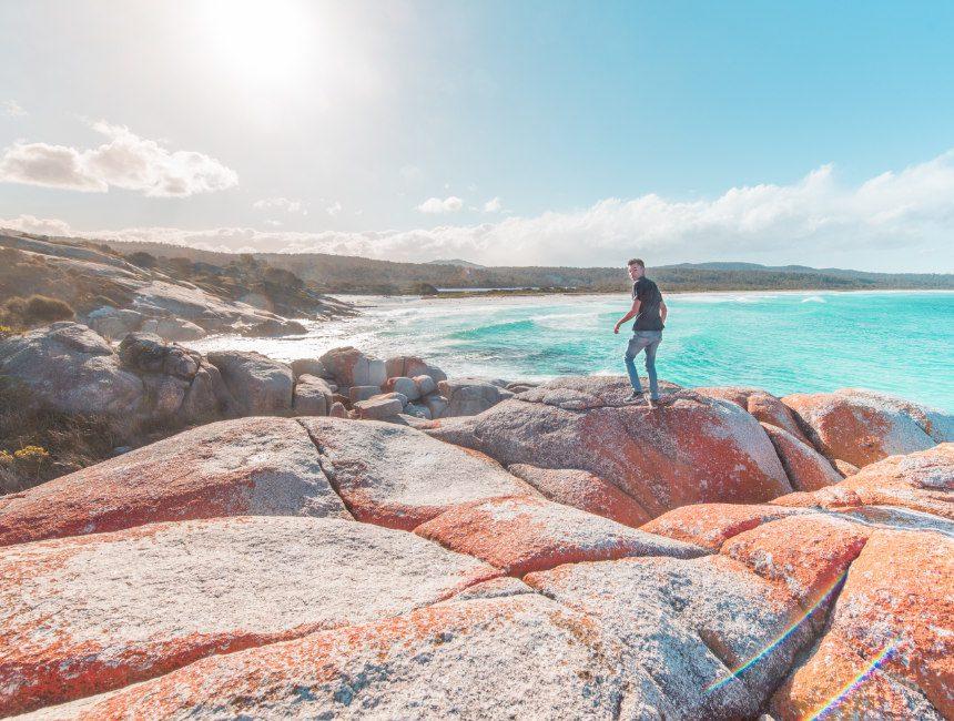 Bay Of Fires Tasmanië bezienswaardigheden Australië