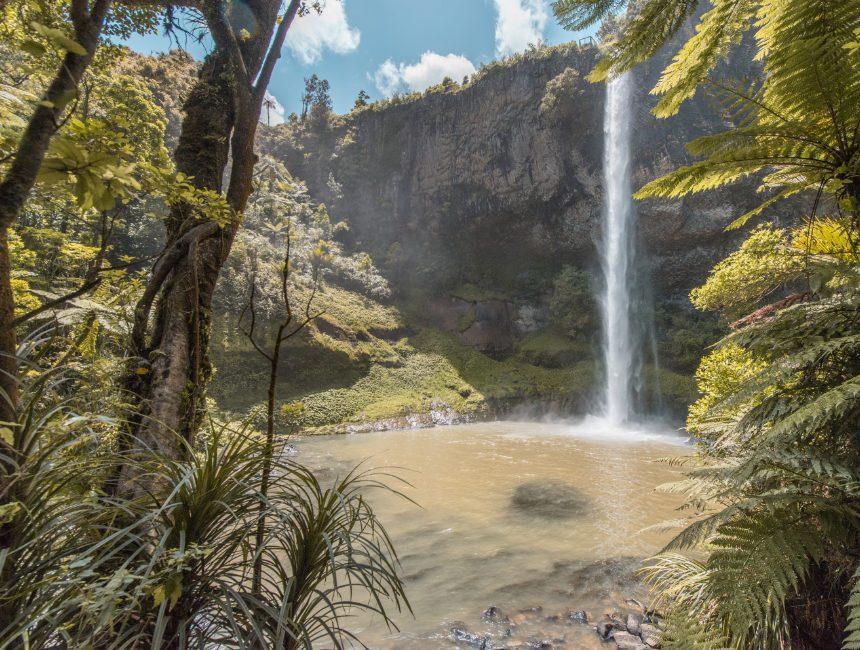 bridal veil waterfall nieuw-zeeland bezienswaardigheden