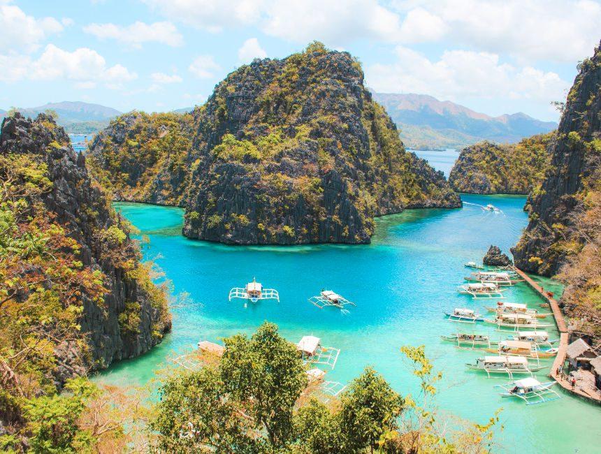 Coron Island hopping tours