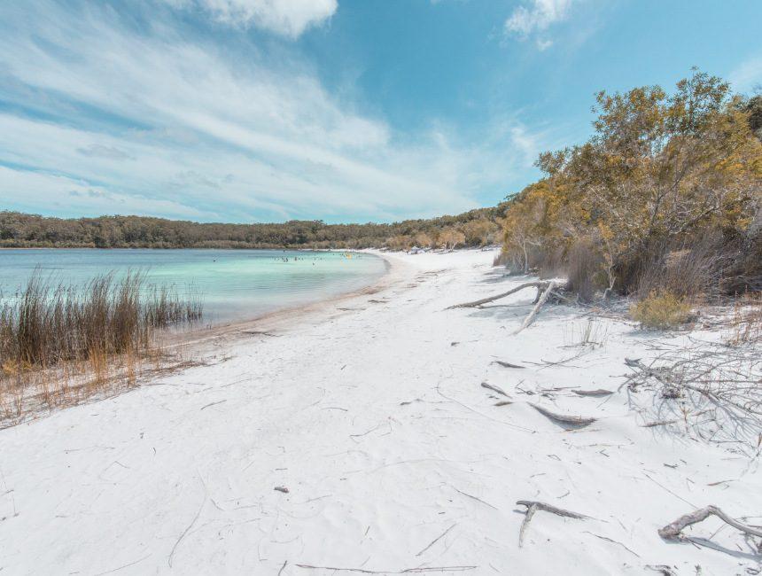 fraser island lake mc kenzie australie