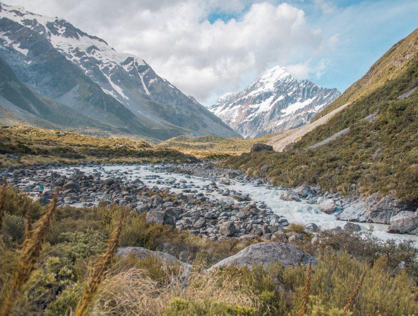 Hooker Valley Track Nieuw-Zeeland