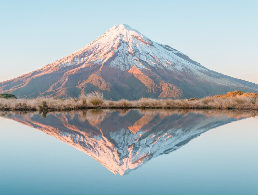 mount taranaki highlights nieuw-zeeland