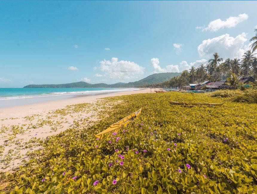 nacpan beach filipijnen hoogtepunten