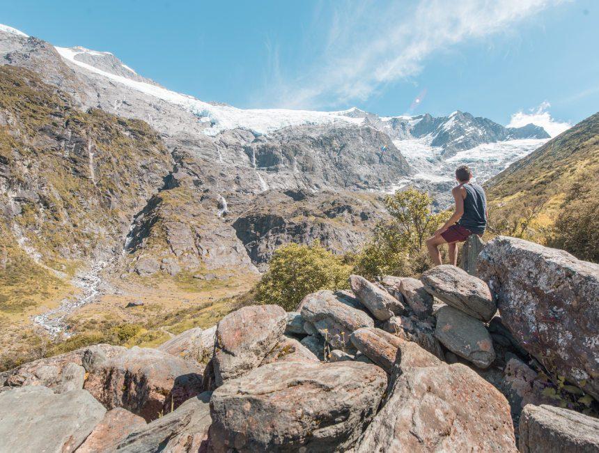 rob boy glacier hike highlights nieuw-zeeland
