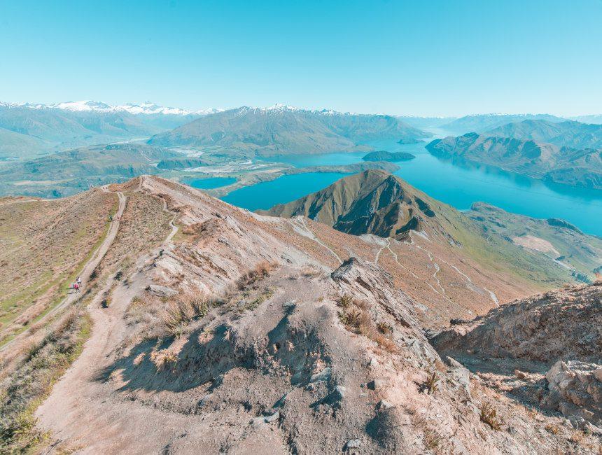 Roys Peak Track bezienswaardigheden nieuw-zeeland