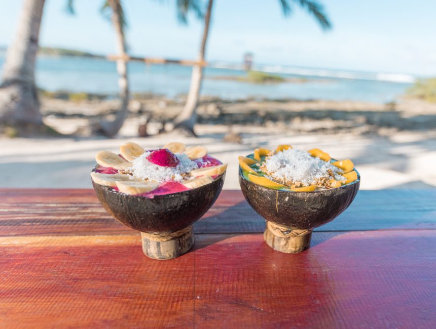 shake cafe smoothie bowls siargao eiland filipijnen