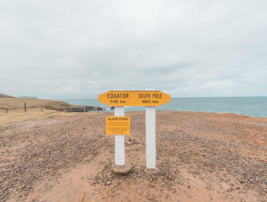 slope point nieuw-zeeland