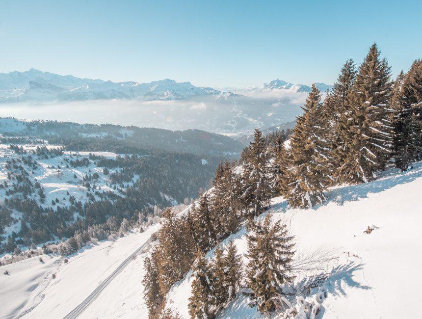 wintersport les gets portes du soleil
