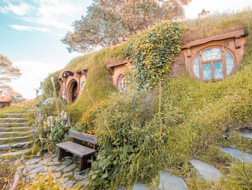 Hobbit huisjes Nieuw-Zeeland