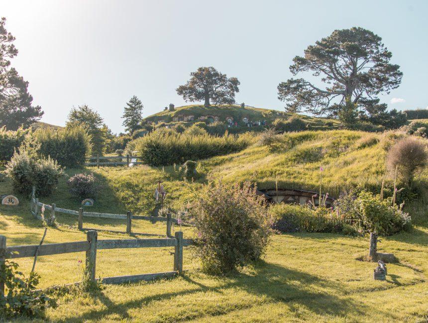 hobbiton hobbit huisjes nieuw-zeeland