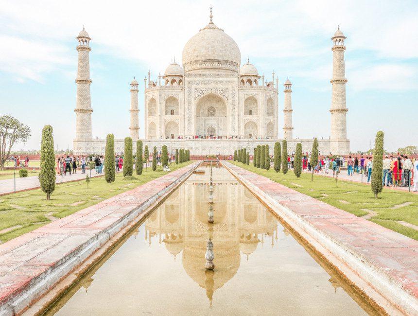 Taj Mahal India visum