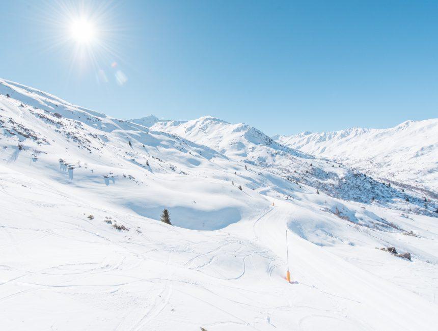 wintersport Valmeinier