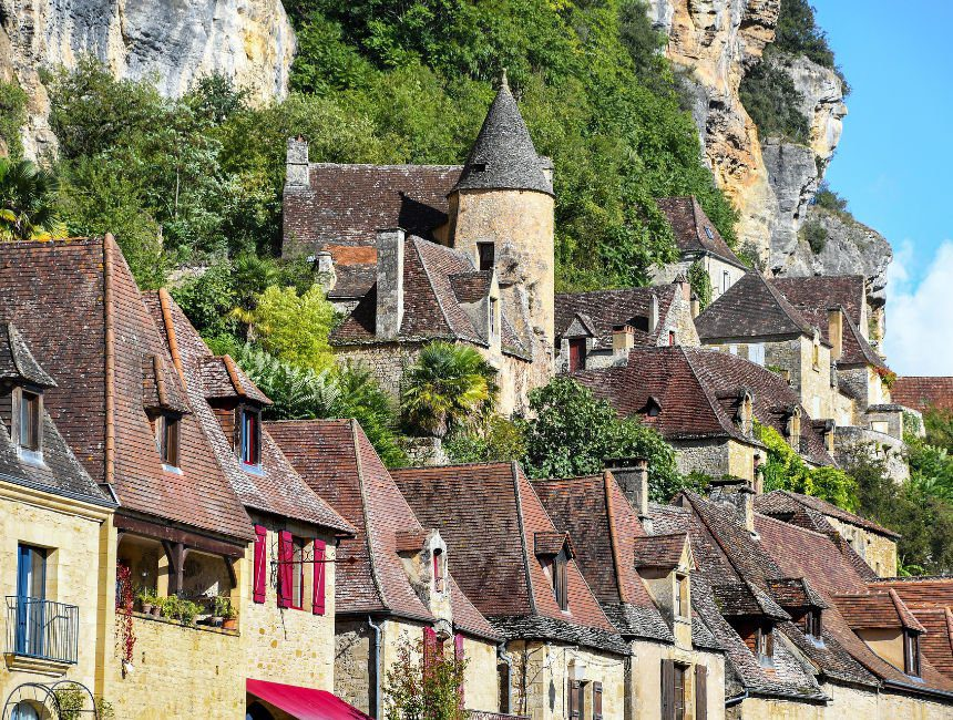 kamperen camping Dordogne