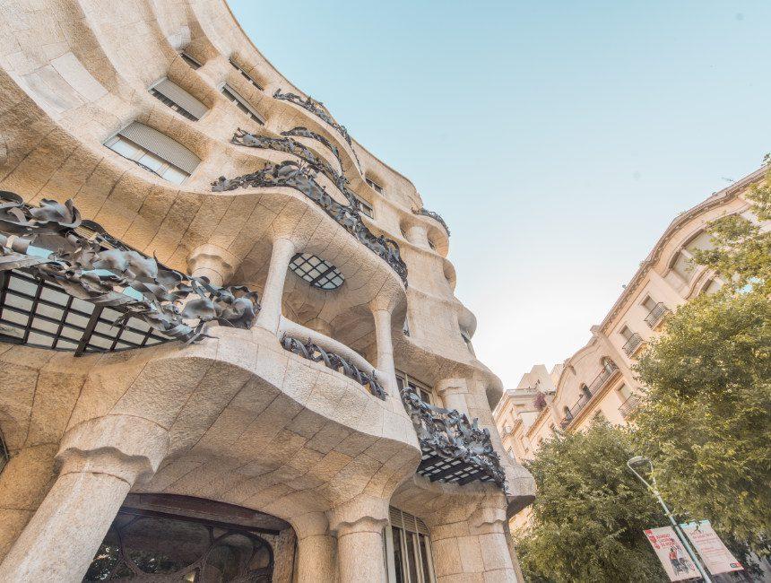 Barcelona kaart Casa Mila