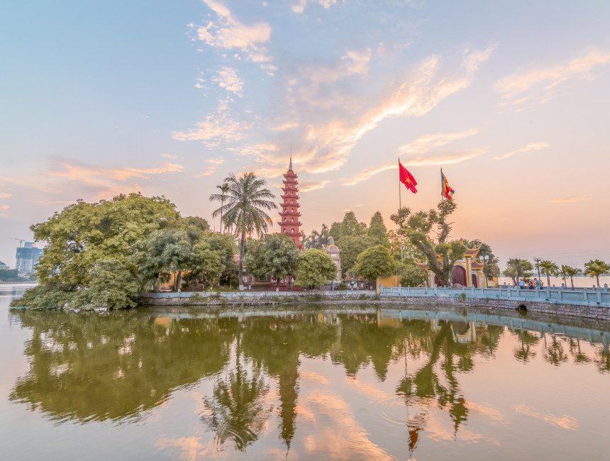 Tran Quoc tempel Hanoi