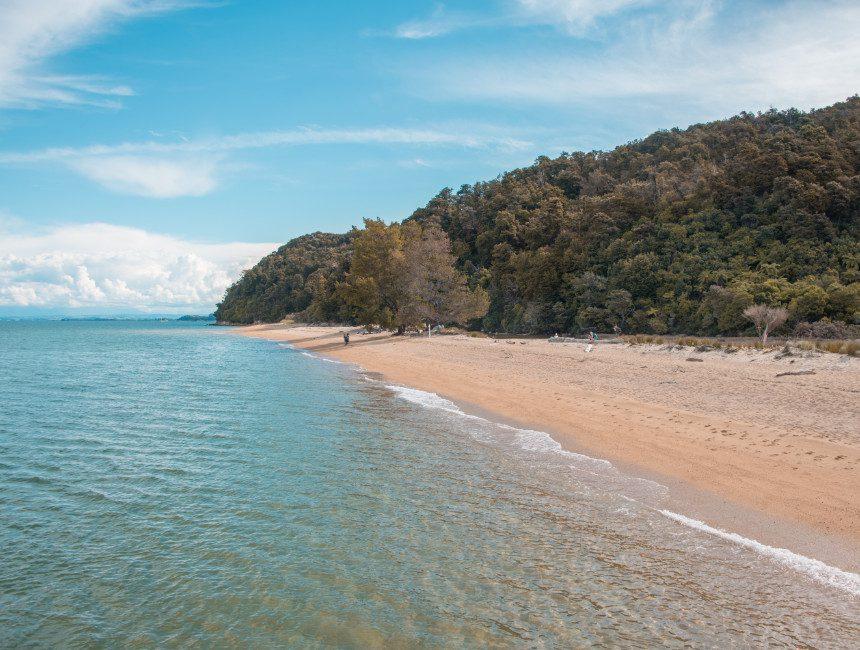 abel tasman national park strand