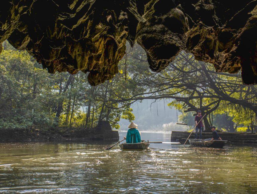 boottocht Ninh Binh Vietnam