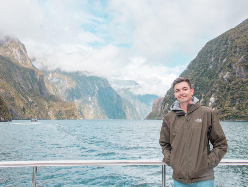 cruise Milford Sound Nieuw-Zeeland