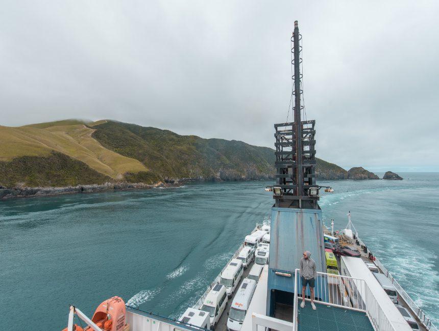 ferry nieuw-zeeland picton wellington cook strait