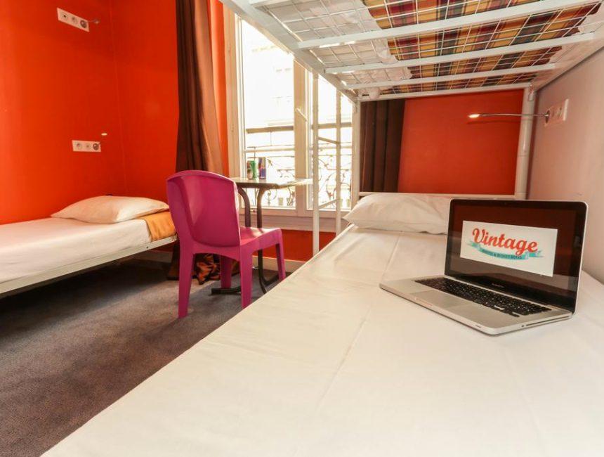 goedkoop hostel parijs centrum vintage paris