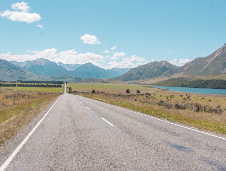 Great Alpine Highway Nieuw-Zeeland autorondreis
