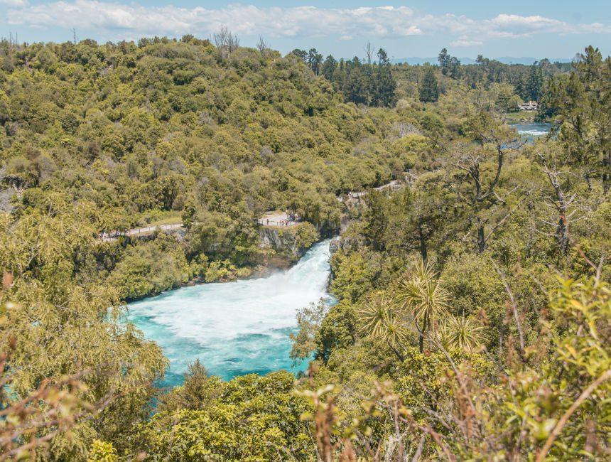 Huka Falls Rondreis door Nieuw-Zeeland