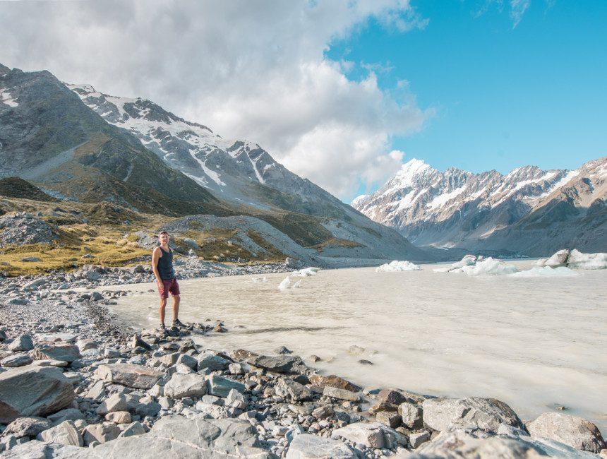 Mount Cook National Park Nieuw-Zeeland
