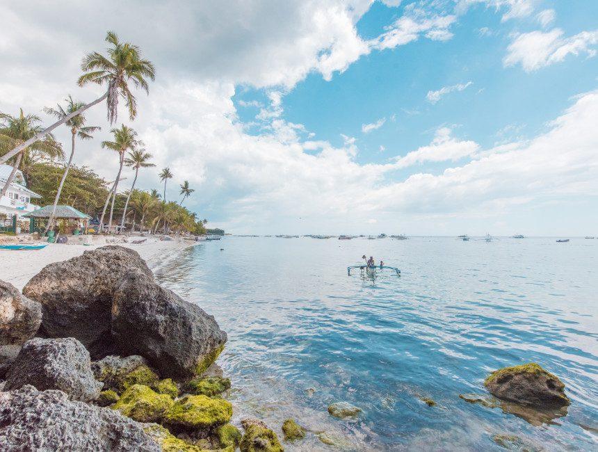 Panglao Filipijnen rondreis Alona Beach