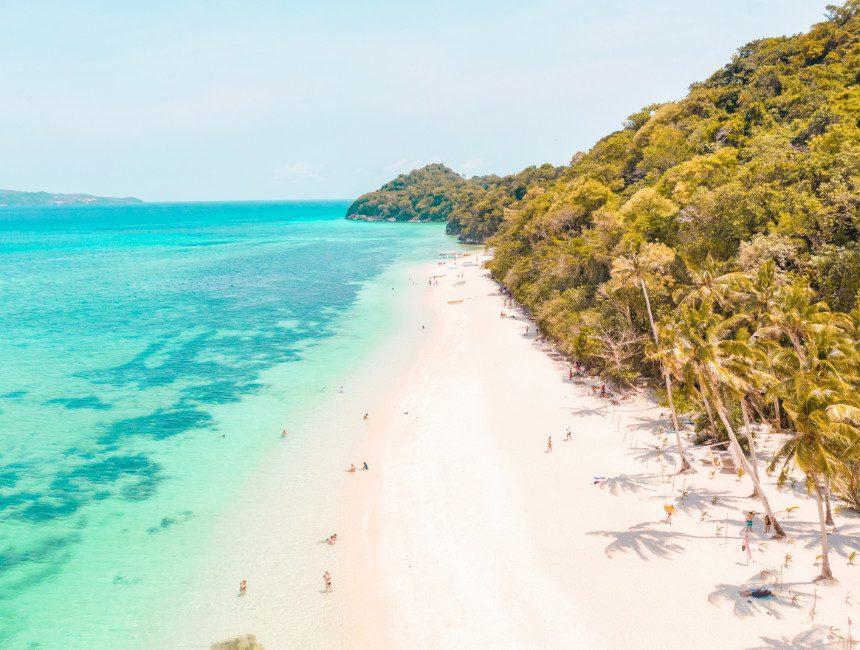 Puka Shell Beach Boracay Filipijnen