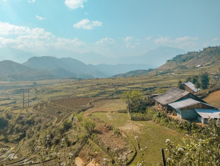 rijstvelden Vietnam rondreis Sapa