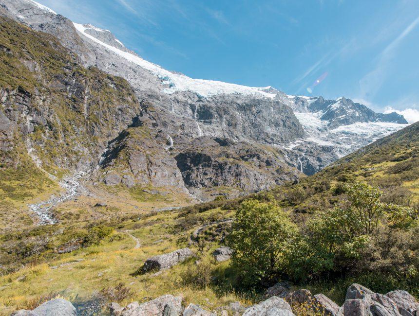 Rob Boy Glacier Nieuw-Zeeland