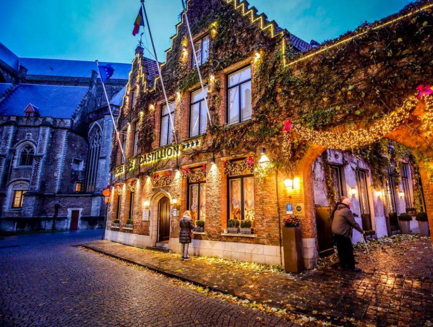 romantisch overnachten Brugge Castillion